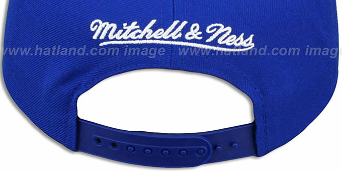 Colts 'NFL-BLOCKER SNAPBACK' Royal Hat by Mitchell & Ness