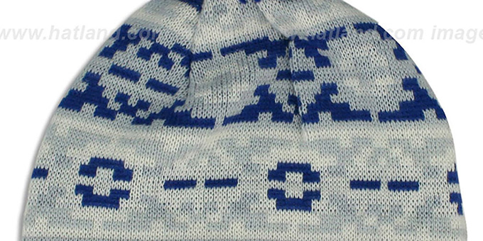 Colts 'THROWBACK RETRO CHILL' Knit Beanie Hat by New Era