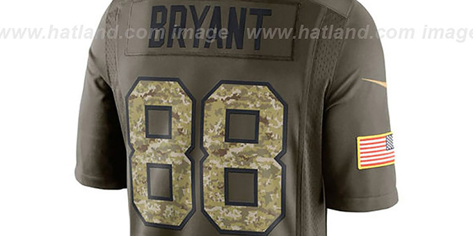 Cowboys 'BRYANT SALUTE TO SERVICE' Jersey by Nike