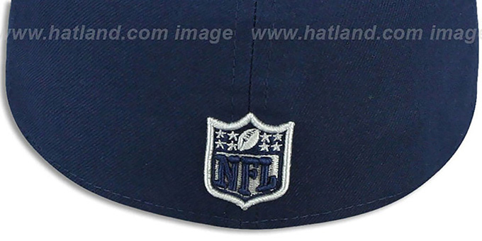Cowboys 'FAIR ISLE FLIP' Navy Fitted Hat by New Era