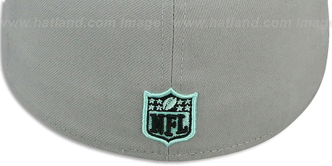 Cowboys 'GREEN-GLOW' Grey-Black Fitted Hat by New Era