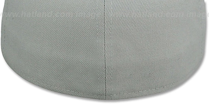 Cowboys 'NFL LOGO-GRAND' Grey-Navy Fitted Hat by New Era