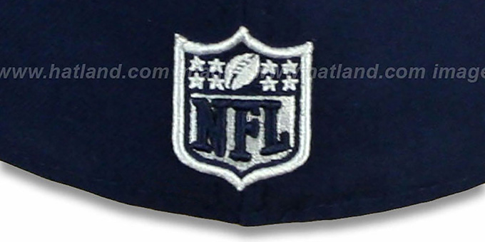 Cowboys 'NFL ONFIELD DRAFT' Navy Fitted Hat by New Era