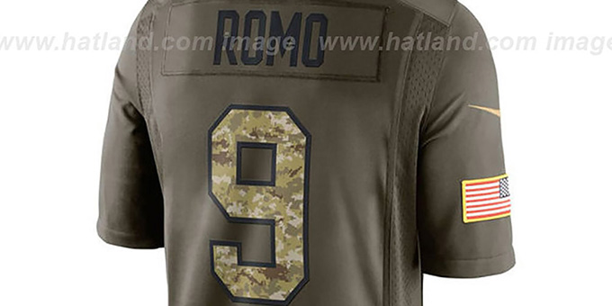 Cowboys 'ROMO SALUTE TO SERVICE' Jersey by Nike