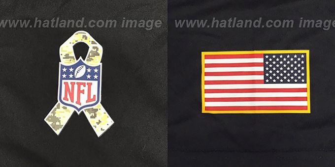 Cowboys 'SALUTE TO SERVICE' Black T-Shirt by Nike