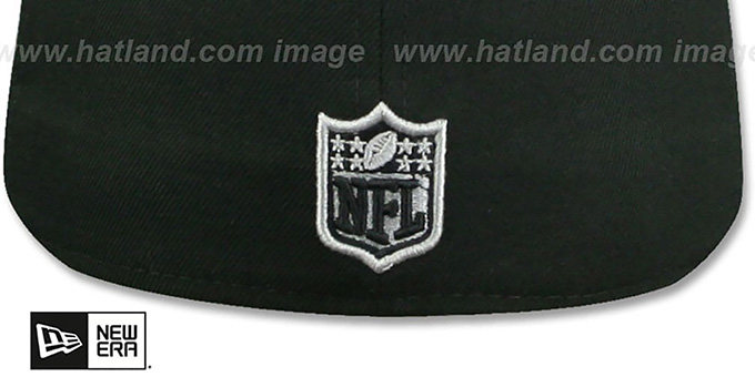 Cowboys 'SNAKESKIN SLEEK' Black Fitted Hat by New Era