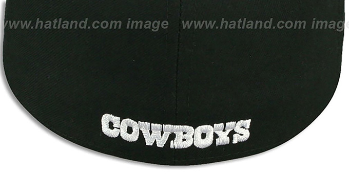 Cowboys 'STAR-VIZE' Black Fitted Hat by New Era