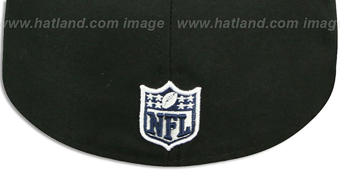 Cowboys 'STING SCREEN' Black Fitted Hat by New Era