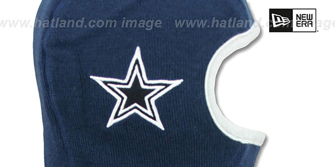 Dallas Cowboys WINTER WARRIOR Navy Knit Hat by New Era 29721f32b