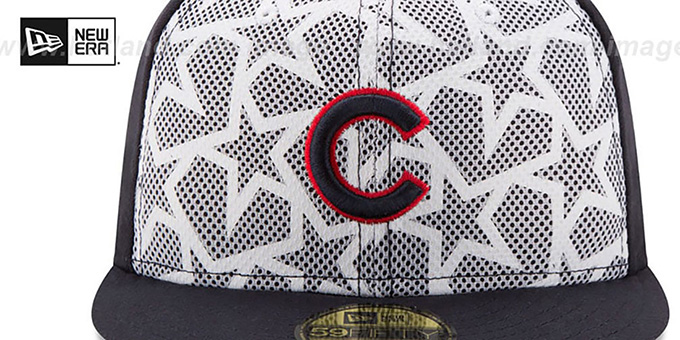 Cubs '2016 JULY 4TH STARS N STRIPES' Fitted Hat by New Era