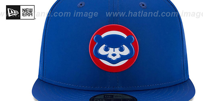 Cubs '2018 PROLIGHT-BP' Royal Fitted Hat by New Era