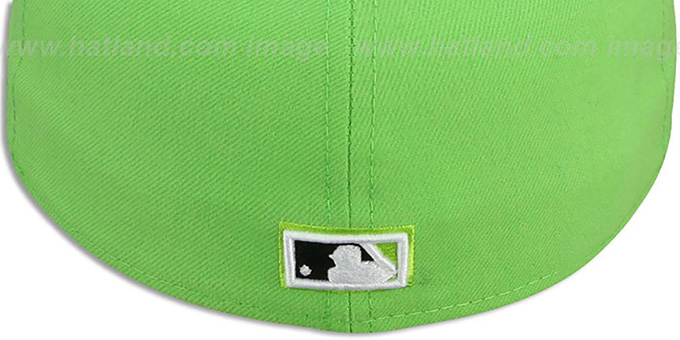 Devil Rays COOP '2T-FASHION' Lime-Black Fitted Hat by New Era