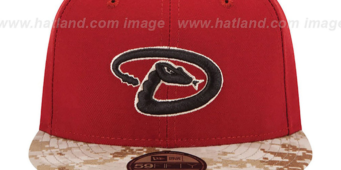 Diamondbacks '2015 STARS N STRIPES' Fitted Hat by New Era