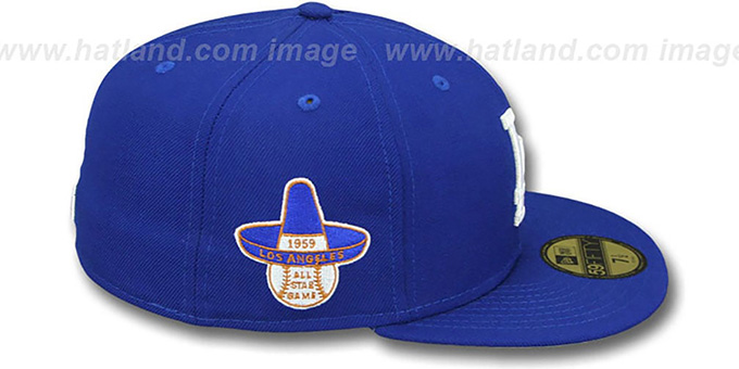 Dodgers 1959 'SIDE ALL-STAR-PATCH' Fitted Hat by New Era