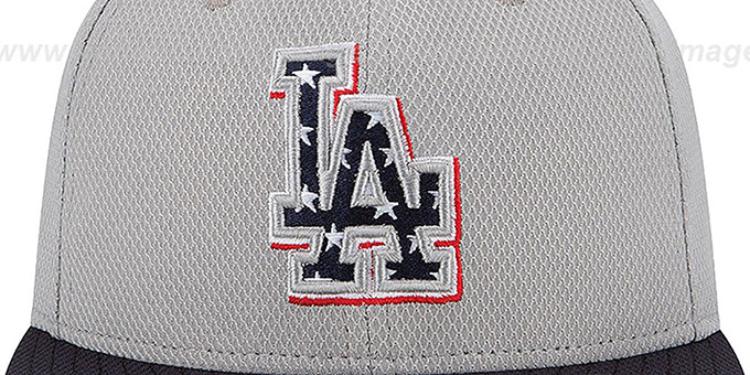 Dodgers 2013 'JULY 4TH STARS N STRIPES' Hat by New Era