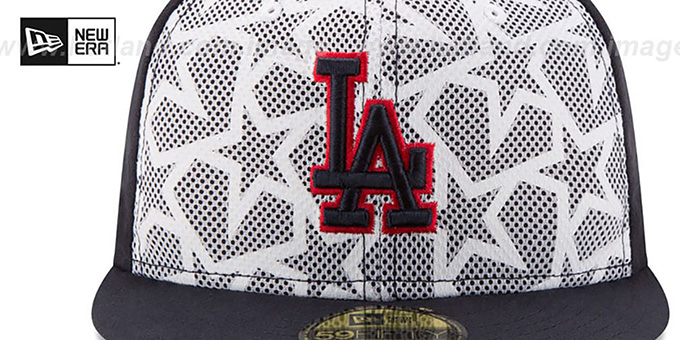 Dodgers '2016 JULY 4TH STARS N STRIPES' Fitted Hat by New Era