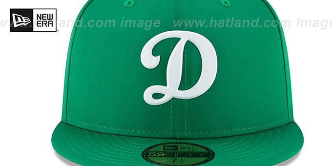 1d06295f1d8a96 Los Angeles Dodgers 2018 ST PATRICKS DAY Hat by New Era