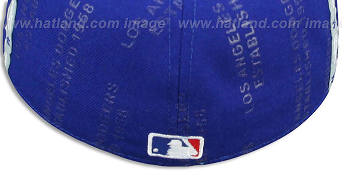 Dodgers 'GELLIN' Royal-Grey Fitted Hat by New Era