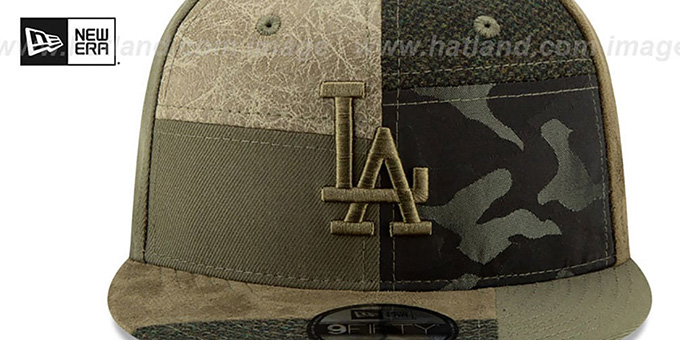 Dodgers 'PATCHWORK PREMIUM SNAPBACK' Hat by New Era