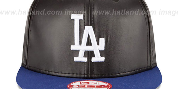 Dodgers 'SMOOTHLY STATED SNAPBACK' Black-Royal Hat by New Era