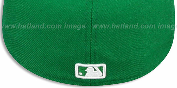 Dodgers 'St Patricks Day 2' Green-White Fitted Hat by New Era