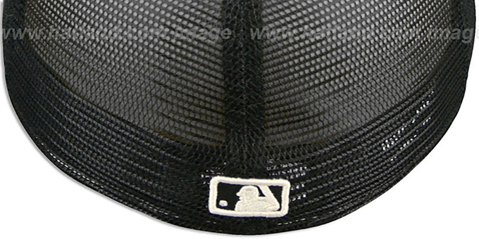 Dodgers ZEBRA 'ANIMAL-FUR MESH-BACK' Fitted Hat by New Era