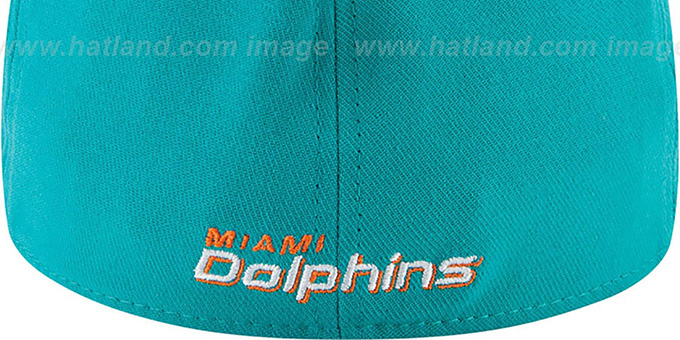 Dolphins '2014 NFL DRAFT FLEX' Aqua Hat by New Era
