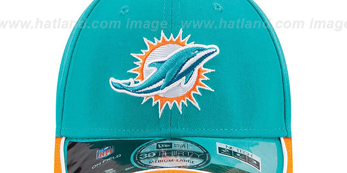 Dolphins '2014 NFL STADIUM FLEX' Aqua Hat by New Era