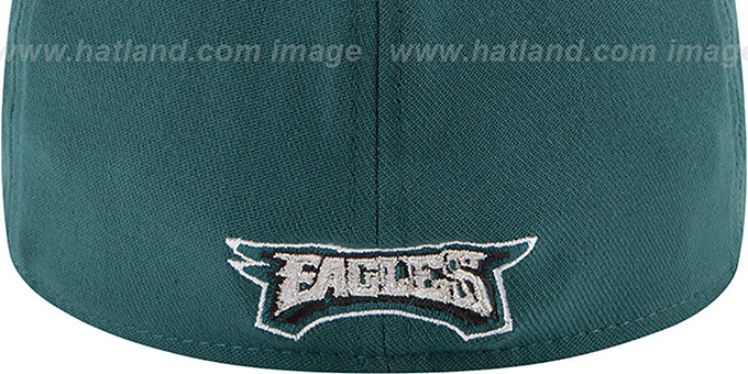Eagles '2014 NFL DRAFT FLEX' Green Hat by New Era