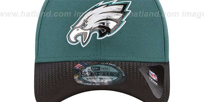 Philadelphia Eagles 2015 NFL DRAFT FLEX Hat by New Era d01cbef2e7