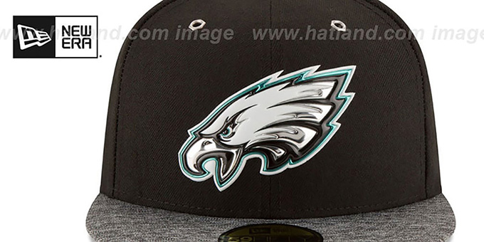 Eagles '2016 MONOCHROME NFL DRAFT' Fitted Hat by New Era