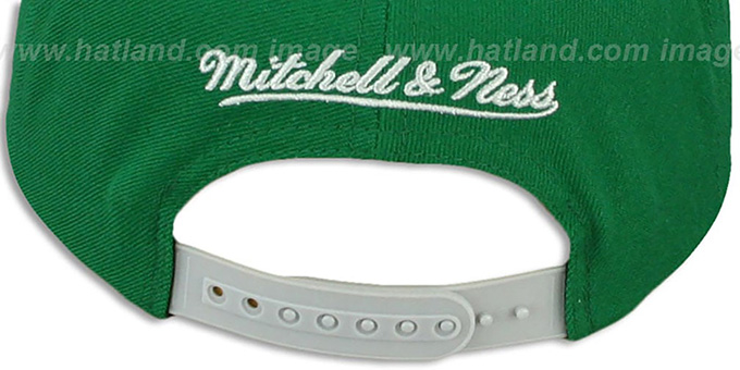 Eagles 'BLOCK-ARCH SNAPBACK' Green-Grey Hat by Mitchell & Ness