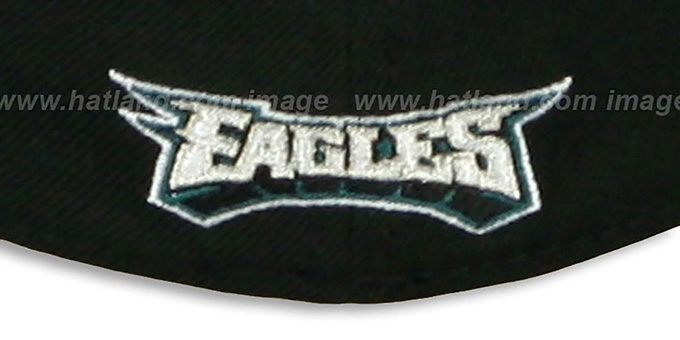 Eagles 'FG DRAFT FLEX' Black Hat by New Era
