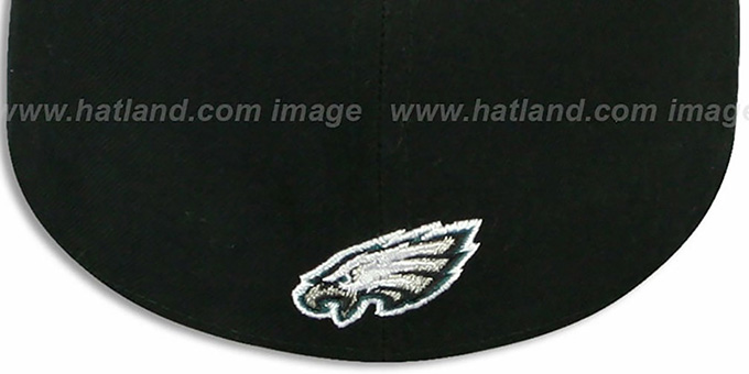 Eagles 'ILLUSION' Black Fitted Hat by New Era