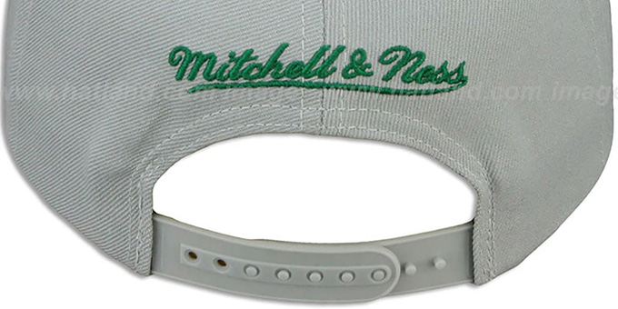 Eagles 'NFL-BLOCKER SNAPBACK' Grey Hat by Mitchell and Ness