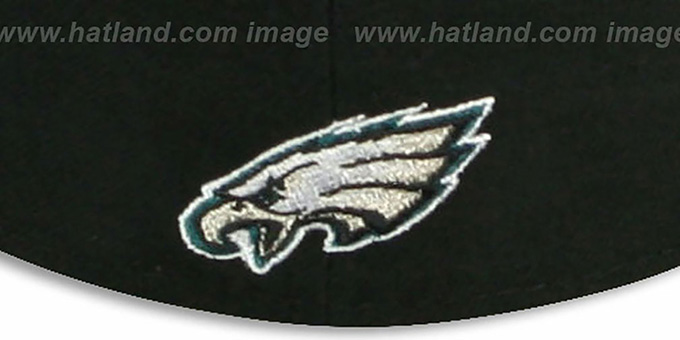 Eagles 'NFL FELTN' Black Fitted Hat by New Era