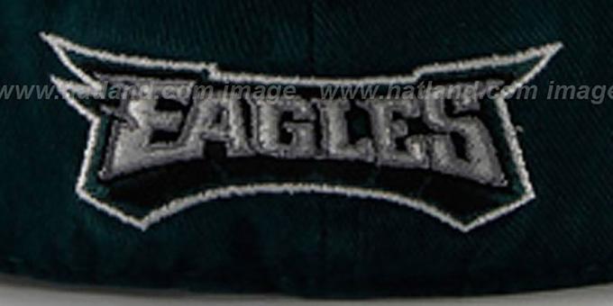 e0838453d5497 Philadelphia Eagles NFL FRANCHISE Green Hat by 47 Brand