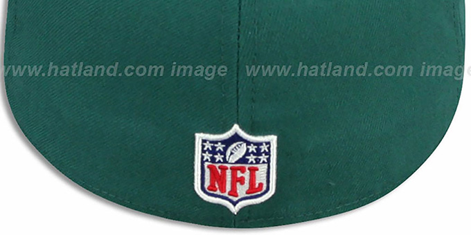 Eagles 'NFL STADIUM' Green-Black Fitted Hat by New Era