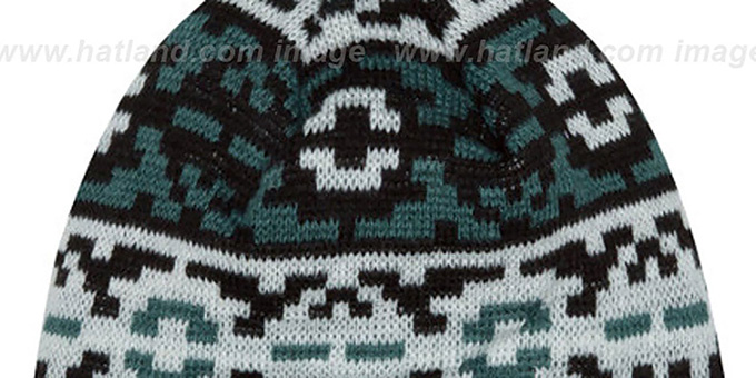 Eagles 'RETRO CHILL' Knit Beanie Hat by New Era