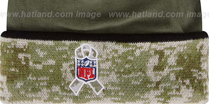 Falcons '2014 SALUTE-TO-SERVICE' Knit Beanie Hat by New Era