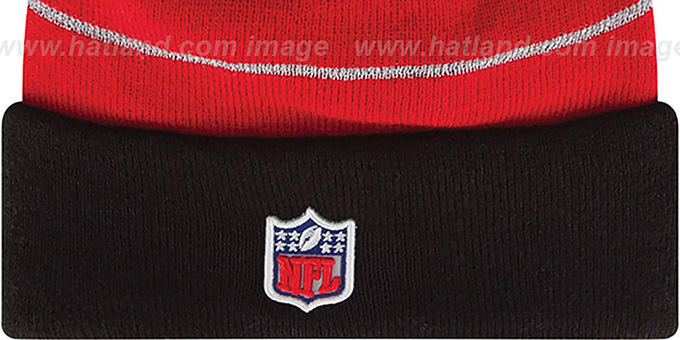Falcons 'THANKSGIVING DAY' Knit Beanie Hat by New Era