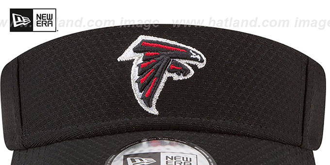 Falcons '2017 NFL TRAINING VISOR' Black by New Era
