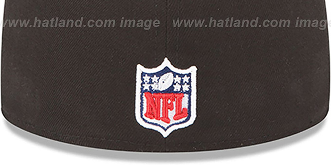 Falcons 'NFL BCA' Black Fitted Hat by New Era