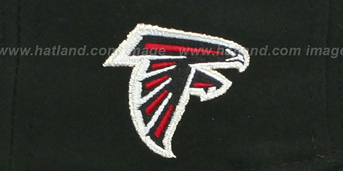 Falcons 'NFL ONFIELD DRAFT' Black Fitted Hat by New Era