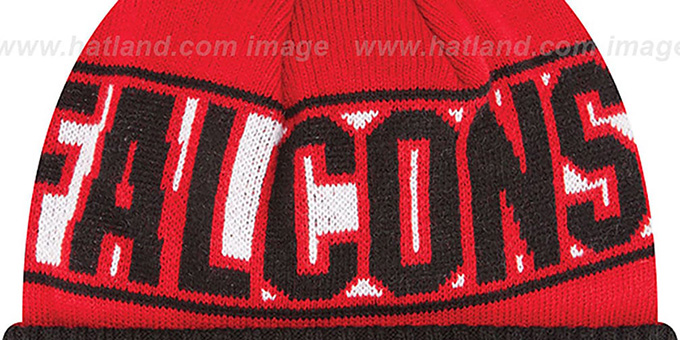 Falcons 'REP-UR-TEAM' Knit Beanie Hat by New Era