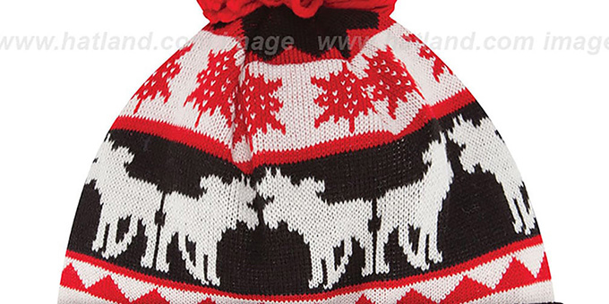 Falcons 'THE-MOOSER' Knit Beanie Hat by New Era