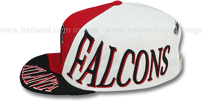 Falcons 'THE SKEW SNAPBACK' Hat by Mitchell and Ness