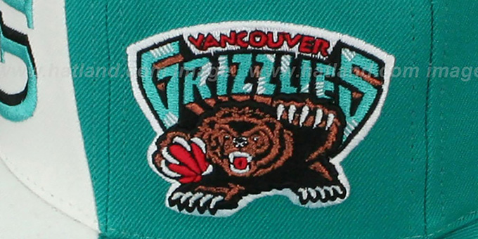 Grizzlies 'TWIRL SNAPBACK' Hat by Mitchell and Ness