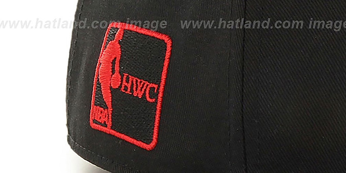Heat 'BURNING-MAN SNAPBACK' Black Hat by Twins 47 Brand