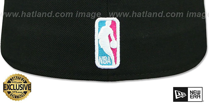 Heat 'MIAMI VICE' Black-Beetroot Fitted Hat by New Era